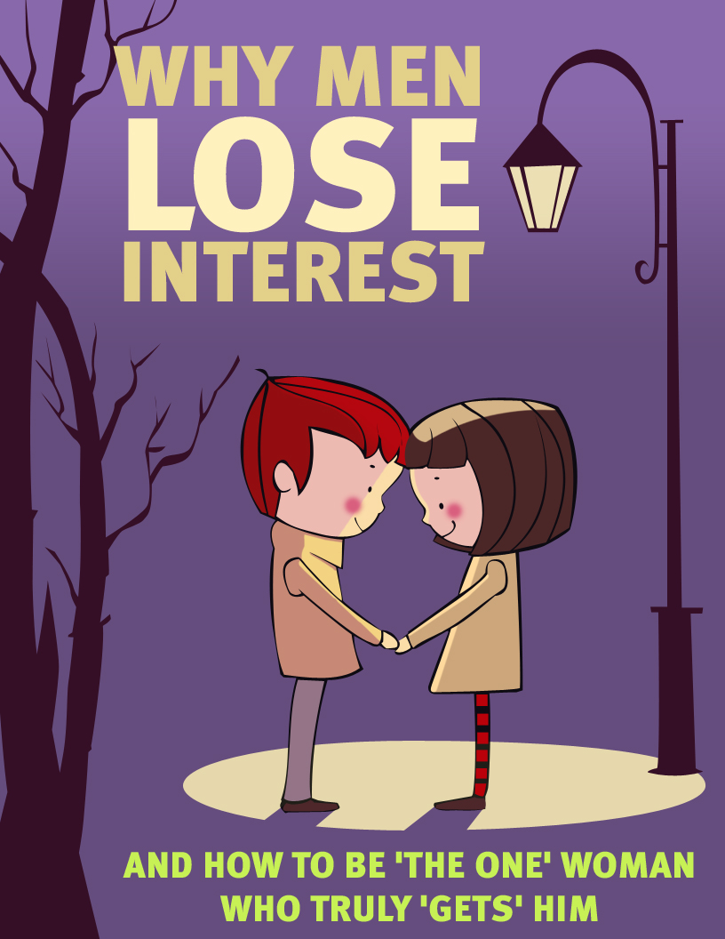 why do men lose interest in a woman